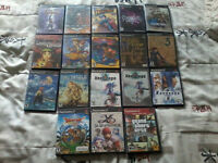 ps2 lot 200$ + free gamecube gratuit