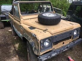 1988 Land Rover 90 Left Hand Drive 2.5 D