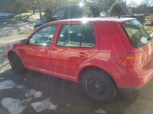Vw golf tdi deisel selling complete or in parts