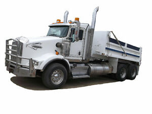 2009 KENWORTH T800B TANDEM GRAVEL TRUCK Cash/ trade/ lease to ow