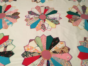 HOMEMADE Patchwork Bedspread & 2 Pillow Shams St. John's Newfoundland image 7