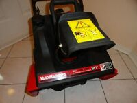 Seldom used, like new: Snow blower - YARD MACHINES by MTD 21""
