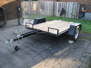 HEAVY DUTY   7 X 5   TRAILER !!!