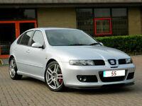 2005 55 Seat Leon 1.8 20v Cupra R 5dr 65K mls WITH FSH+225 BHP BAM