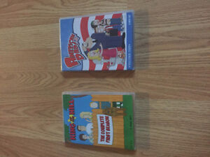 American Dad & King of the Hill DVD's
