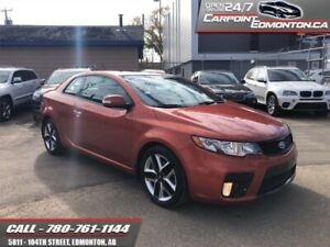 2010 Kia Forte Koup FLAWLESS.. ONLY 58000 KMS!!  - One owner
