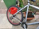 Reflex crossbar bike aluminium frame