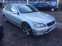 Lexus IS 200 2.0 auto SE 4 DOOR - 2003 03-REG - 9 MONTHS MOT
