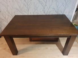 Solid Wood Oak Dining Table.