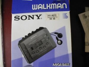 Walkman Sony avec écouteurs