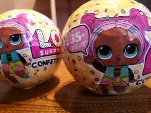 2 LOL Surprise Confetti POP