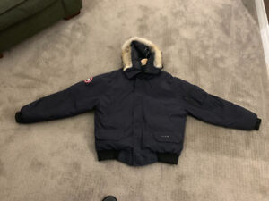 Men's Navy Canada goose jacket (real)