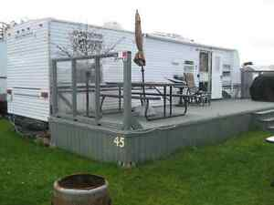 GAGNON BEACH trailer for RENT - still available July 02-16
