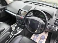 2007 Land Rover Freelander 2.2 TD4 HSE 5dr Diesel black Automatic