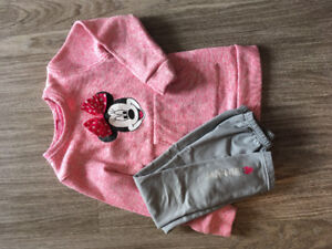 Girls 6x Disney Outfit - Minnie Mouse