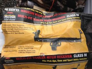 Multi-fit trailer hitch receiver class IV