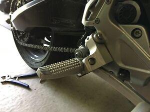 Peg Lowering Kit BMW F-800