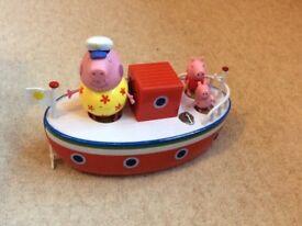 Peppa pig bath toy