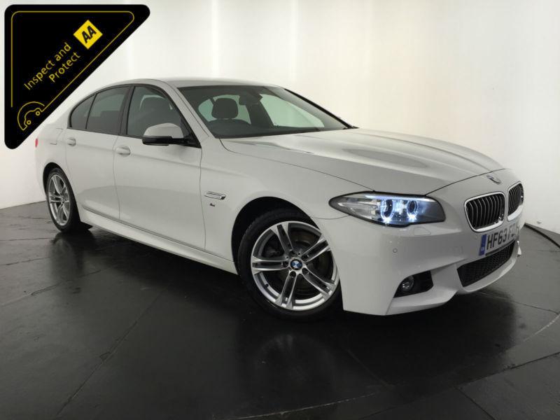 2013 63 BMW 520D M SPORT AUTOMATIC 4 DOOR SALOON 184 BHP 1 OWNER FINANCE PX