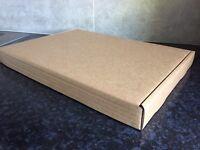 Medium flat cardboard boxes