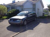 Volkswagen Passat Familiale TDI Wagon pour route ou pièces