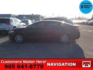 2013 Ford Fusion SE  LEATHER ROOF NAVIGATION HTD-SEATS
