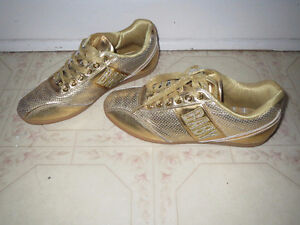 Gold Baby Phat shoes, 6.5 - $20