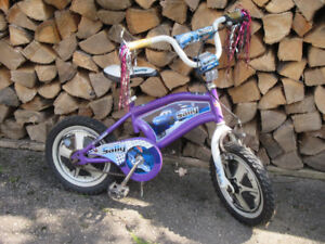 Cars Sally -  Girls 14-Inch Bicycle with Training Wheels