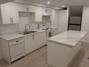 New Bright Basement Suite!! 1,200+ sqft