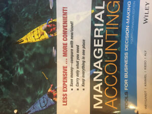 Textbook - Managerial Accounting