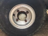 "WANTED 9"" inch rim / wheel 4 stud trailer/forklift/plant/industrial"