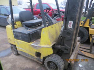 5000 LB CAP HYSTER FORKLIFT GREAT WORKING UNIT