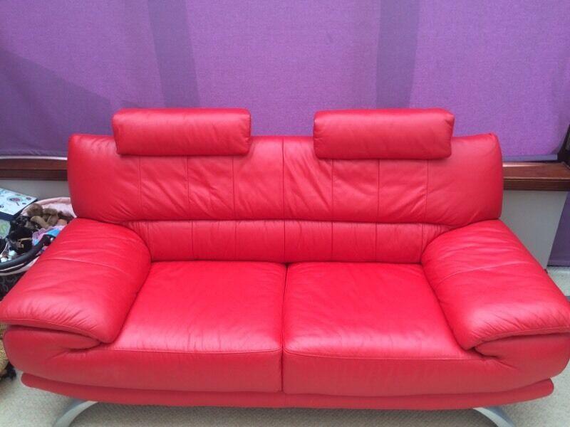 Leather Sofa In Portlethen Aberdeen Gumtree