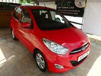 2013 Hyundai i10 1.2 ( 85bhp ) Active Manual Petrol Hatchback in Red