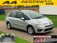 Citroen Grand C4 Picasso 2.0i 16v EGS VTR+ FREE DELIVERY UP TO 100 MILE