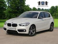 2016 16 BMW 1 SERIES 2.0 118D SPORT 5D 147 BHP DIESEL, 1 OWNER AND FULL BMW HIS