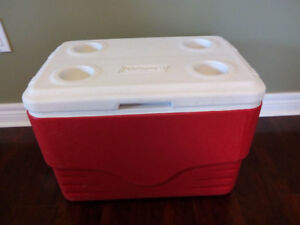 good condition coleman cooler for sale #234343443434___________