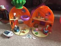 spongebob play sets