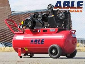 Electric Air Compressor 240Volt 100lt 18CFM 115PSI