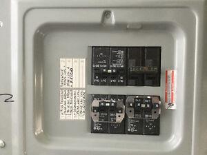 Panneau électrique - boîte