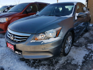 2012 Honda Accord Exl clear carproof