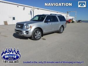 2016 Ford Expedition Max Platinum    - Sync 3 - Navigation - 8 P