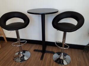 Bistro Table and Bistro Stools
