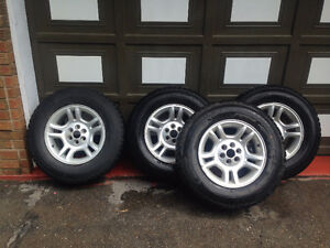 Rims with winter tires 235/70R16