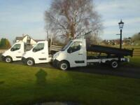 RENAULT MASTER F3500 DCI 125 TIPPER 13 REG ONLY 31,000 MILES