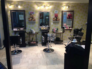 Excellent Turn Key Salon for sale Down Town Chillwack