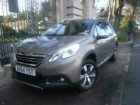 2014 64 PEUGEOT 2008 1.6 ALLURE 5DOOR PETROL HATCHBACK GREY PART LEATHER 120 BHP