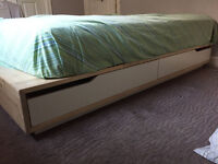 Queen Bed with Matress