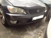 Lexus is200 grey 1c6 bonnet hood v-good condition 98-05 breaking spares is 200 is300 altezza