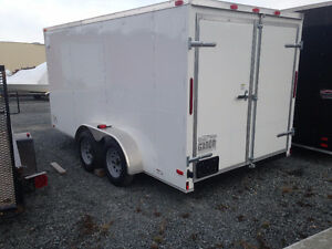 GATOR ENCLOSED TRAILERS IN ALL SIZES AND COLORS